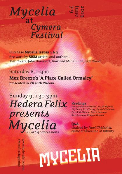 Hedera Felix presenting Mycelia at Cymera Festival in Edinburgh 7–9 June 2019.