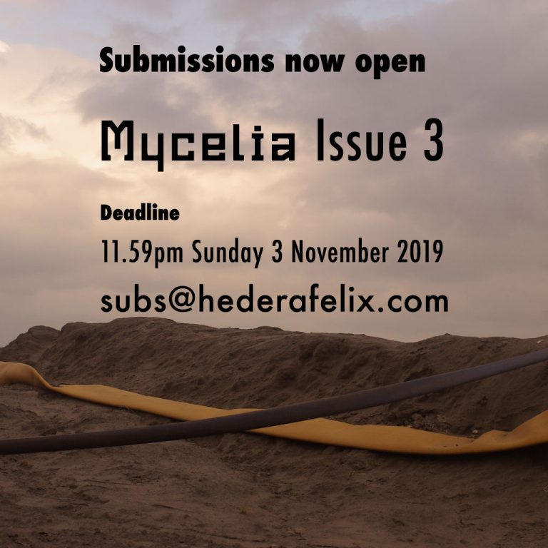 Submissions for Mycelia Issue 3